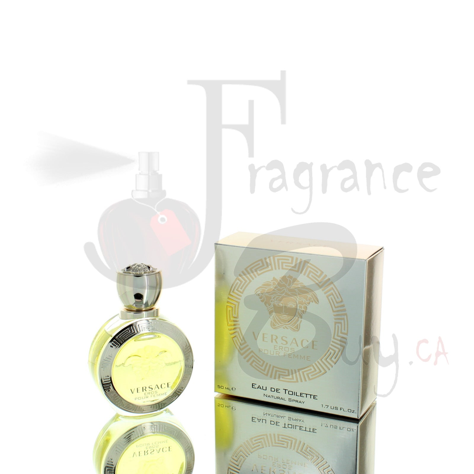 Versace Eros (Eau De Toilette Edition) For Woman