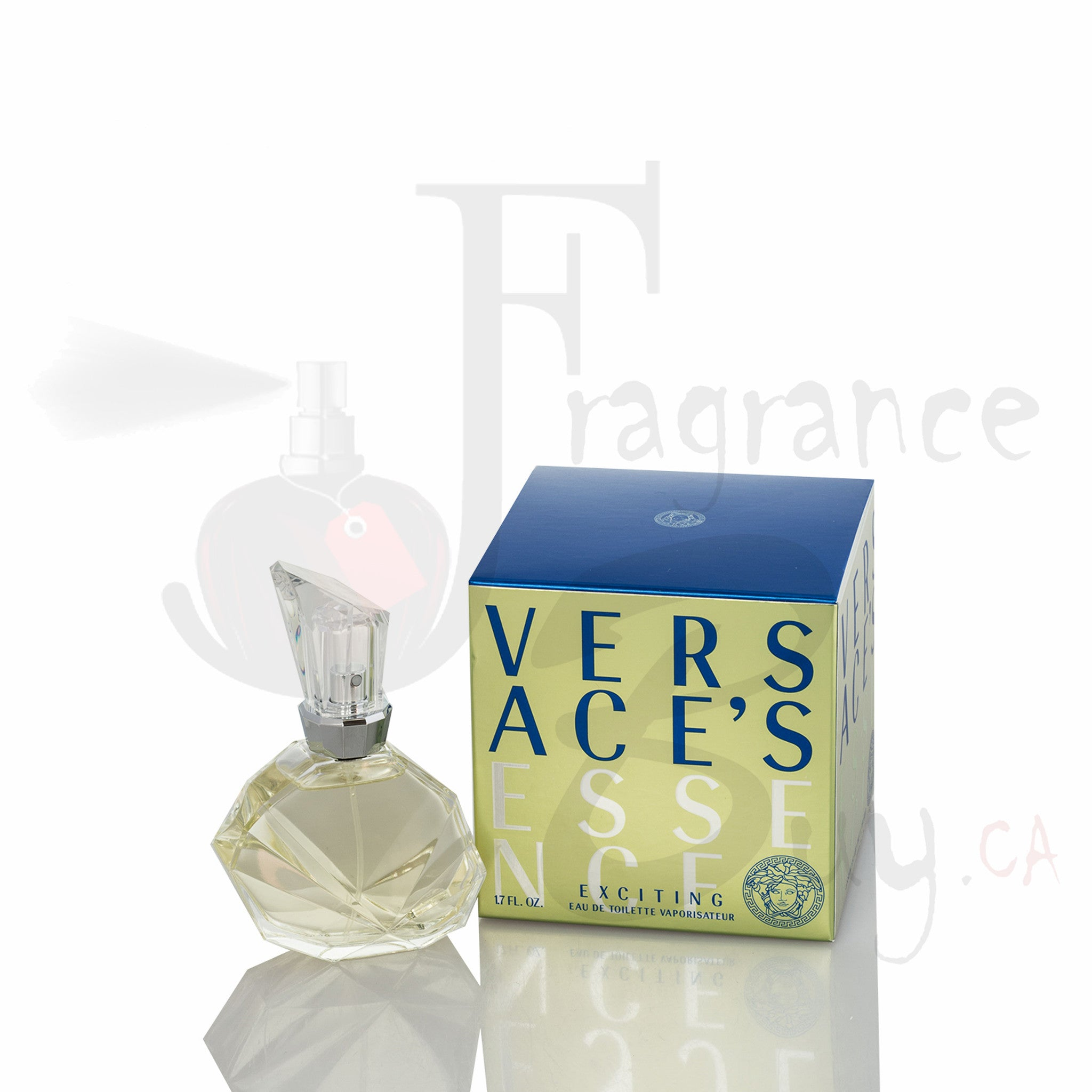 Versace Exciting (Vintage Green) For Woman