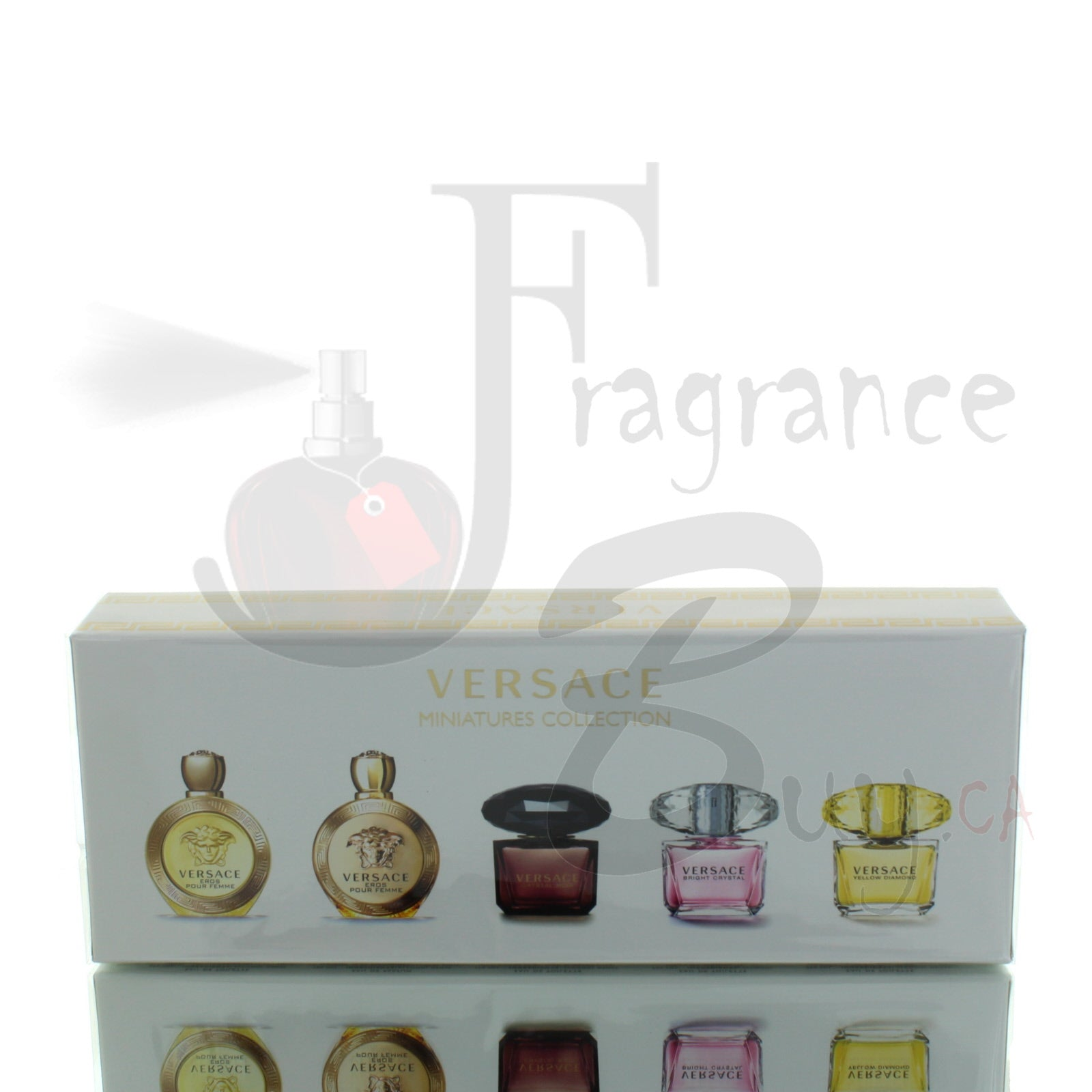 Versace Miniature Woman Gift Set