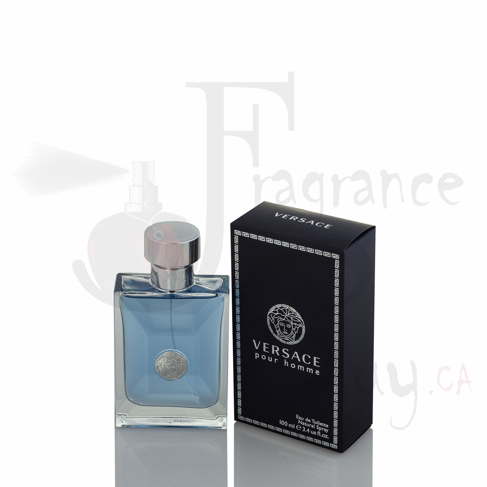 Versace Pour Homme Signature (Dark Blue) For Man