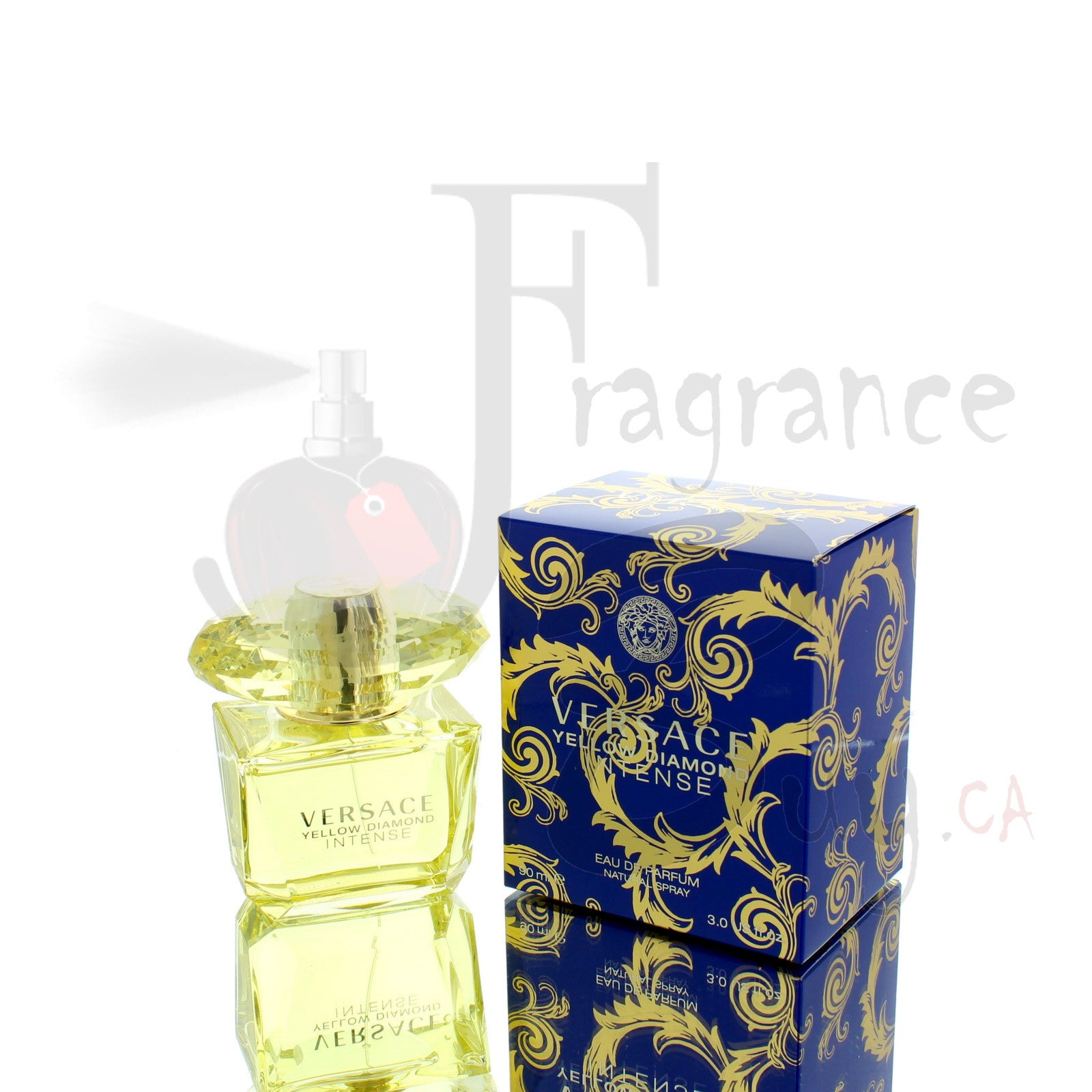 Versace Yellow Diamond Intense For Woman