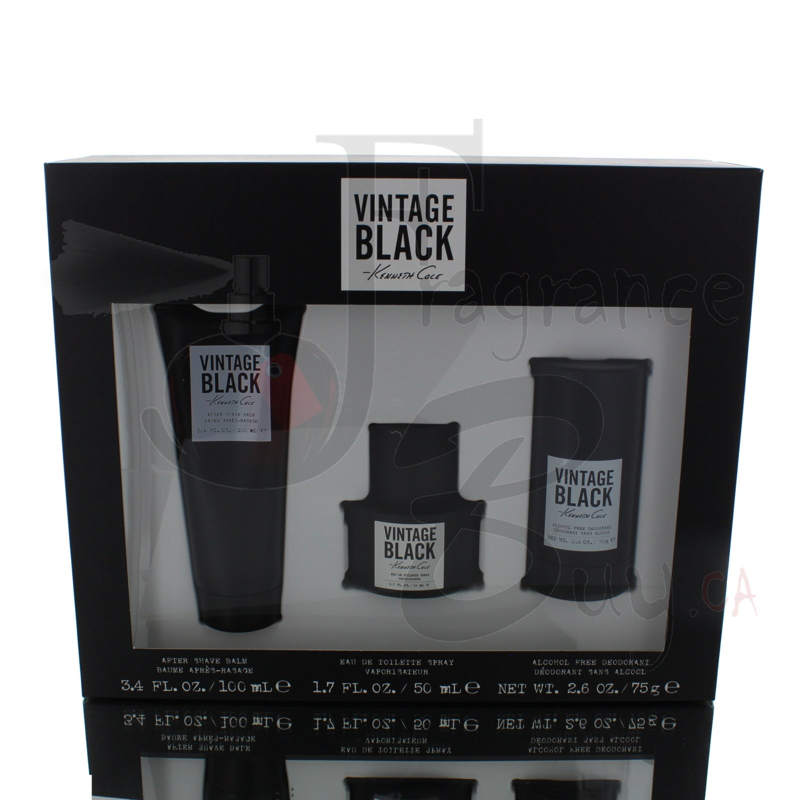 Kenneth Cole Vintage Black Edition For Man
