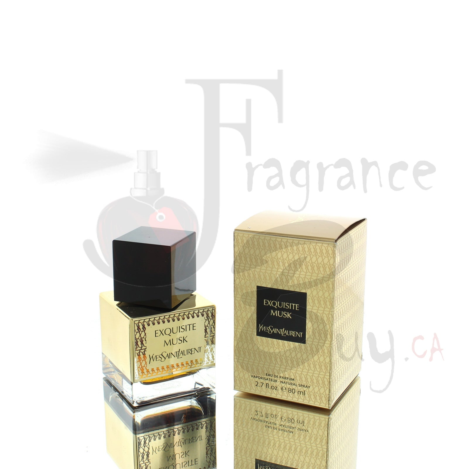 YvesSaintLaurent Exquisite Musk For Man/Woman