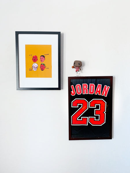 Bulls' Dream Team Print