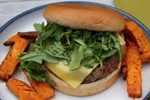 Impossible burger the Farm to Fit way