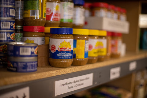 Sunflower seed butter is a tasty peanut butter substitute