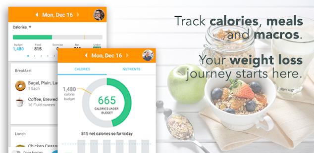 Counting calories with Lose It!