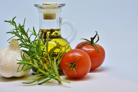 Cooking with vegetable oil