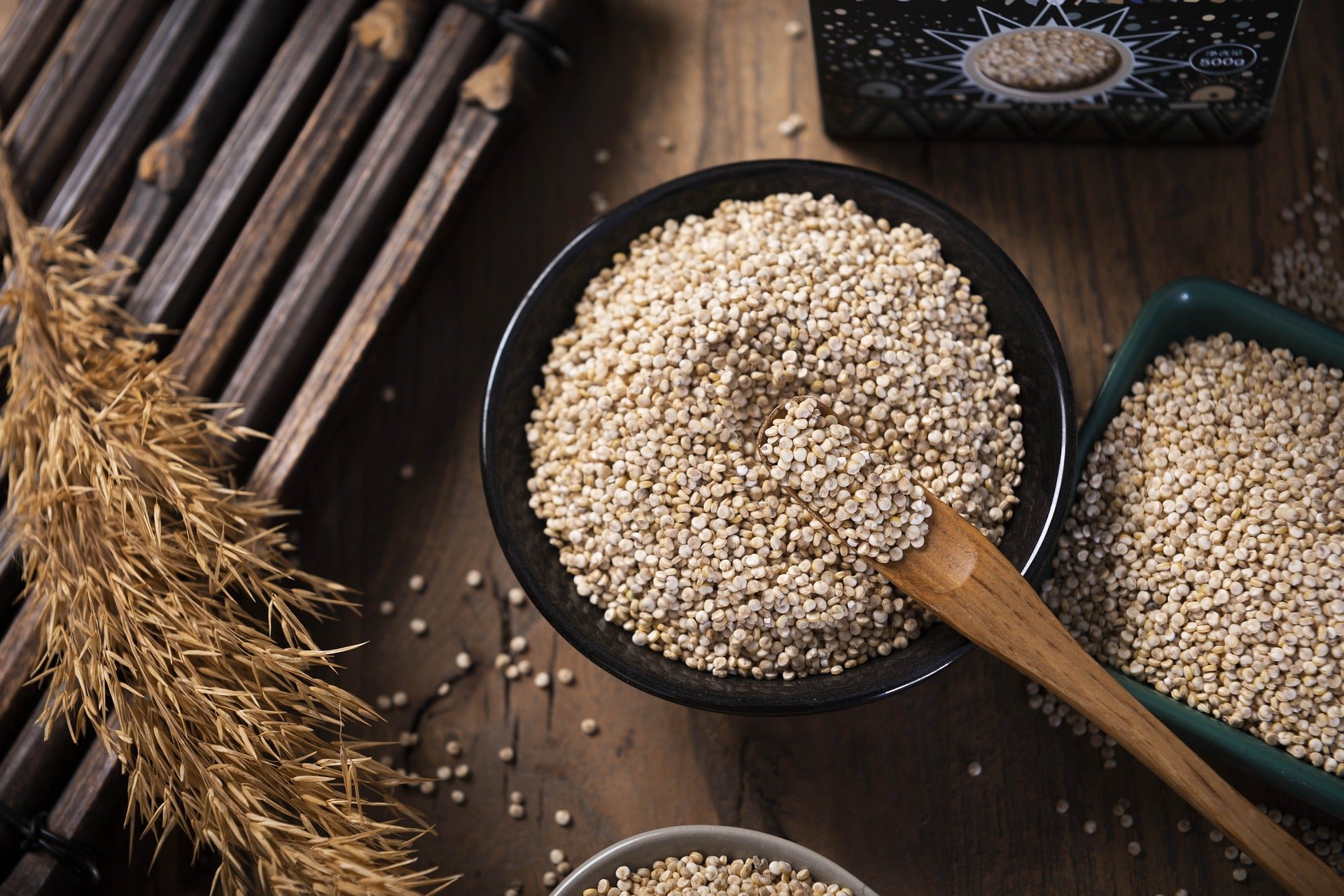 Quinoa is a great choice as a rice substitute