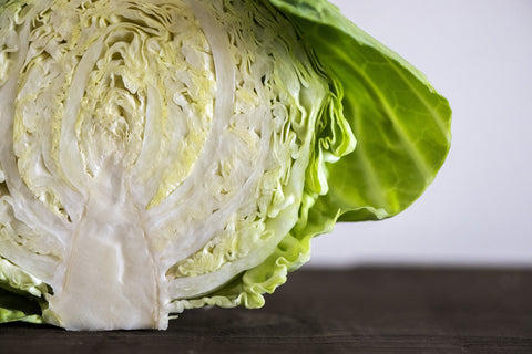 Chopped cabbage is a low calorie rice substitute