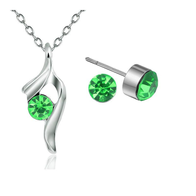 18K White-Gold Plated Fairy Set