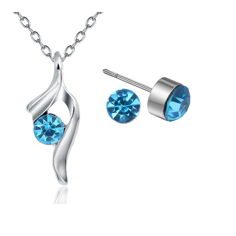 18K White-Gold Plated Fairy Set-Romatco