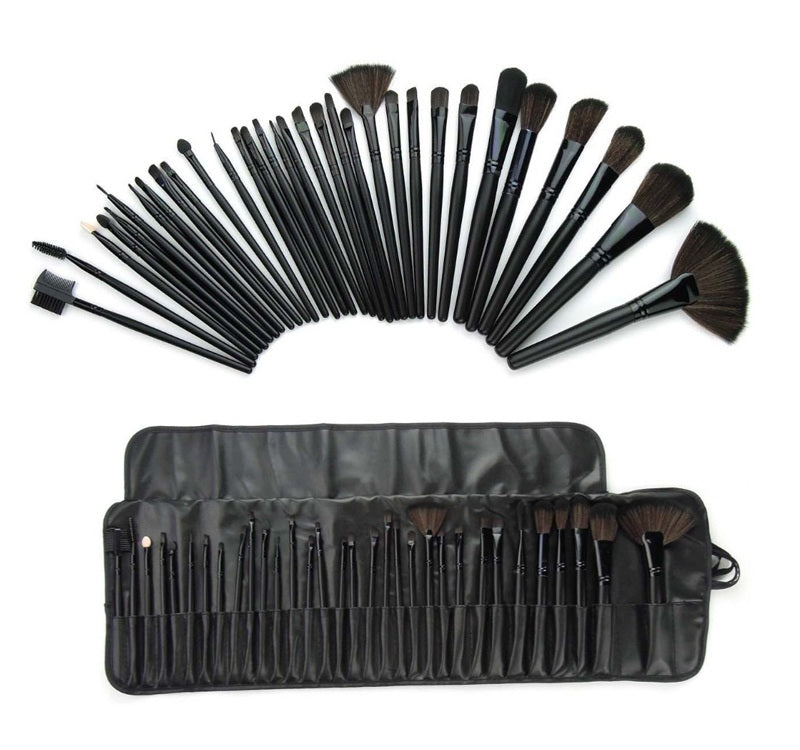 32 Piece Professional Make up brushes-Romatco