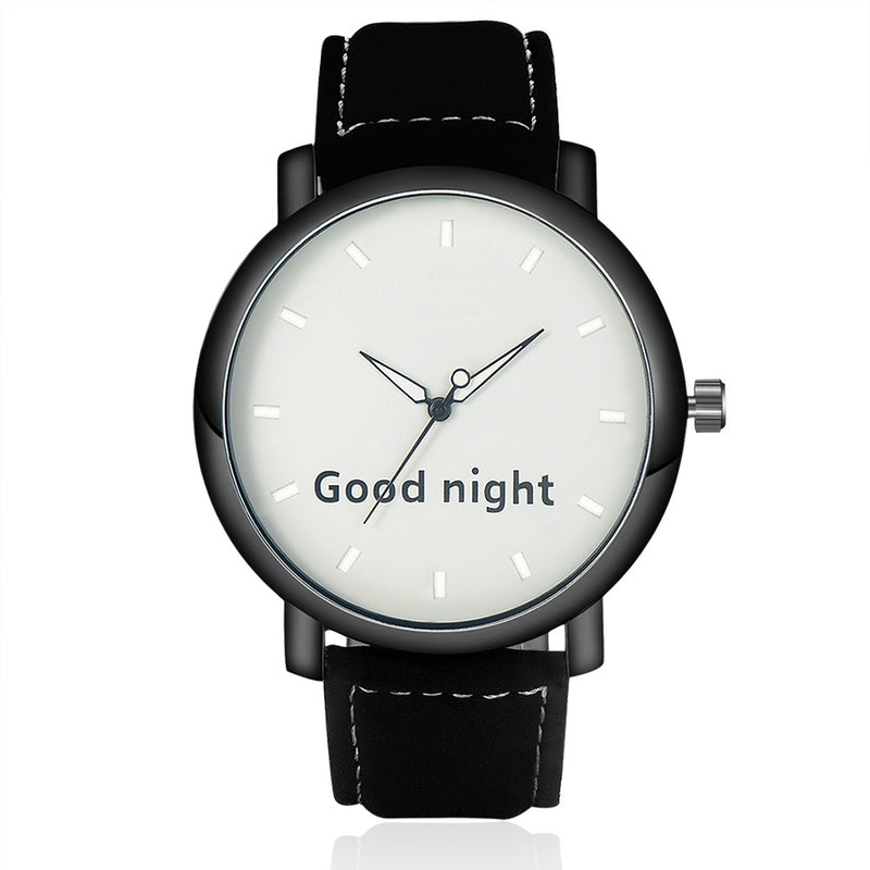 Good Night Watch Mens Watch romatco.myshopify.com