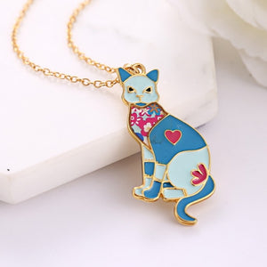 22K Gold plated Figurine Necklaces-Romatco