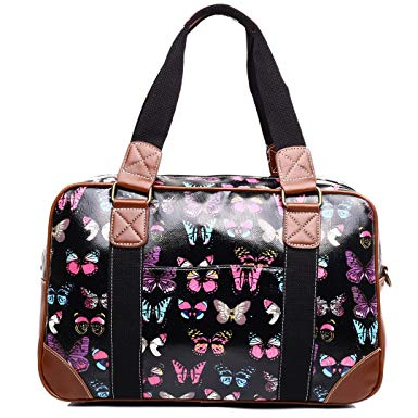 Butterfly Travel Handbags - Romatco Jewelry