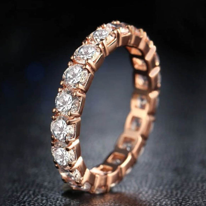 Evaleen Eternity Ring-Romatco