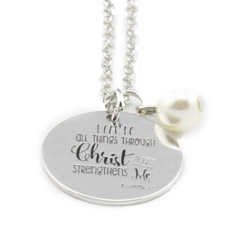 I Can Do All Things Necklace-Romatco