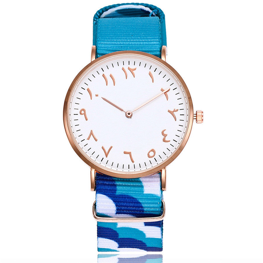 Blue Waves Strap