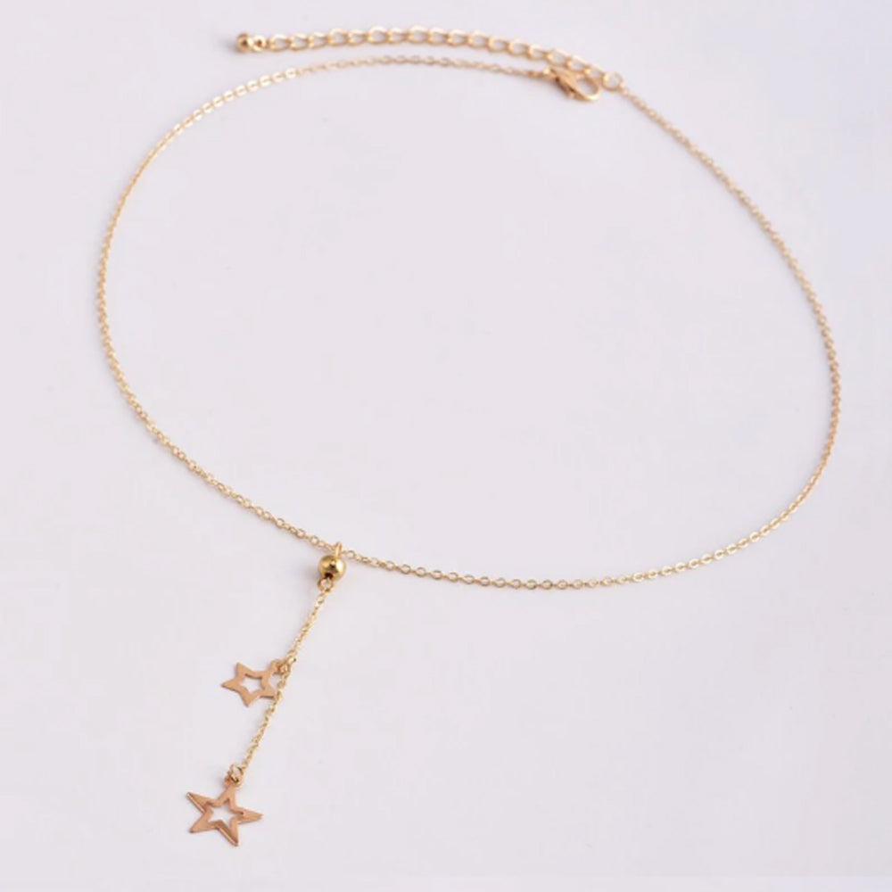 Bohemian Dual Star Necklace