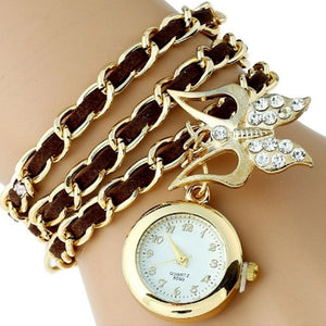 Butterfly Pendant Watch-Romatco