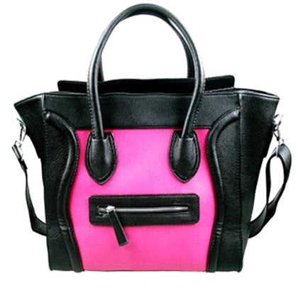 Faux Leather Handbags-Romatco