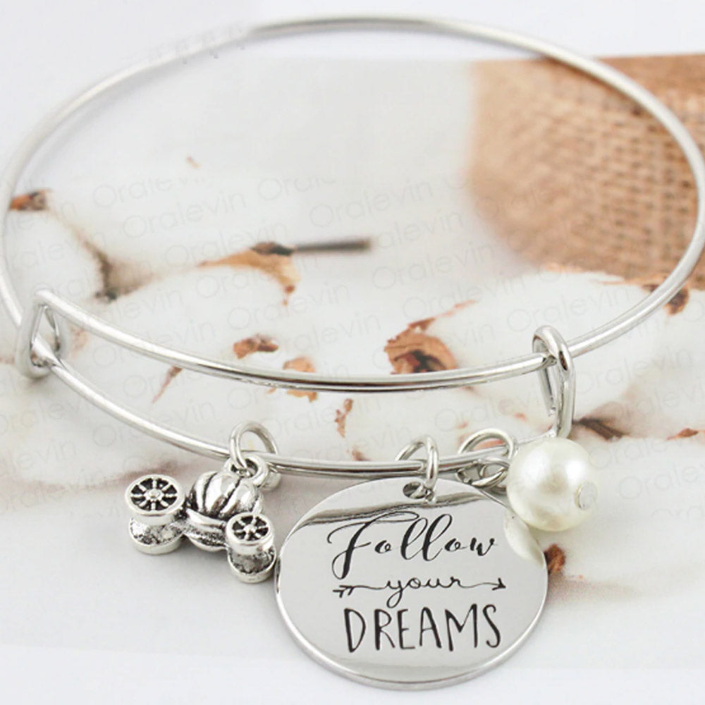 Follow Your Dreams Inspired Bracelet-Romatco