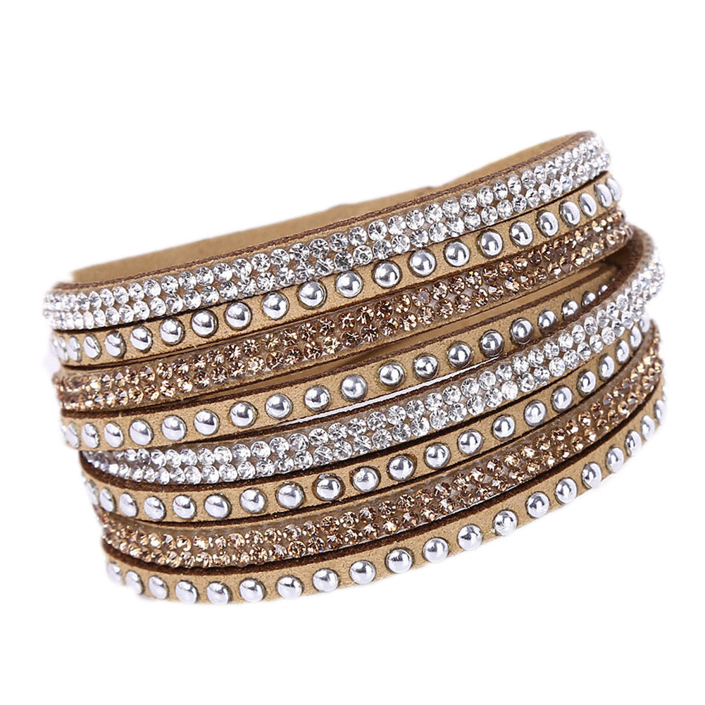 Tiyana Multi Layer Bracelet Gold-Romatco