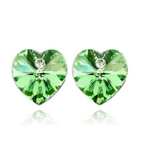 Heart Peer Earrings-Romatco