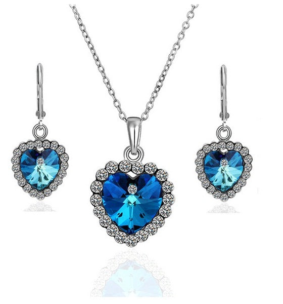 Heart of Ocean Set Jewelry Set romatco.myshopify.com