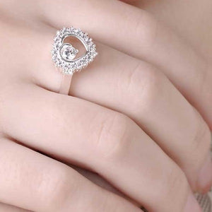 18K White-Gold Plated Shalina Ring-Romatco