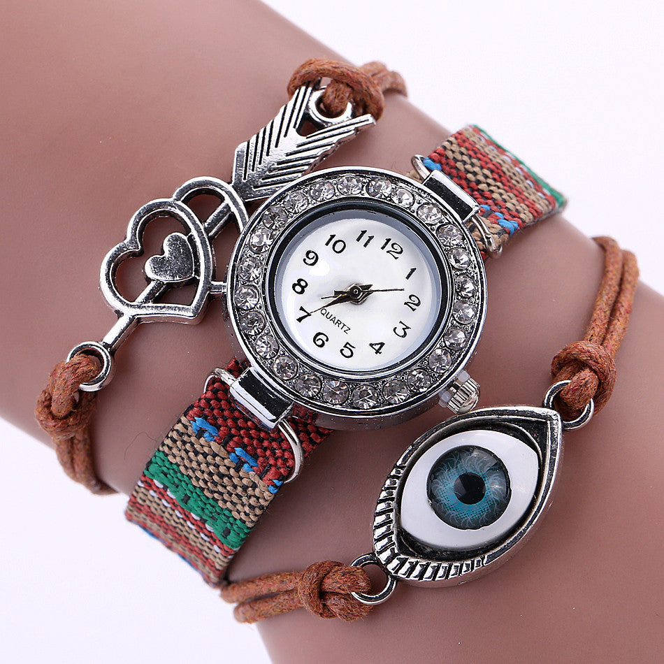 Evil Eye Watch-Romatco