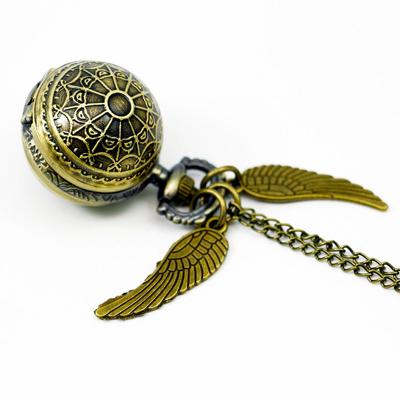 Golden Snitch Pocket Watch-Romatco