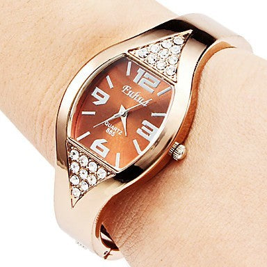 Luxury Rose-Gold Bracelet Watch-Romatco