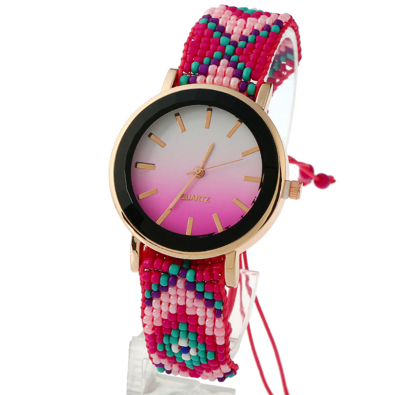 Mysti Braided Watch-Romatco