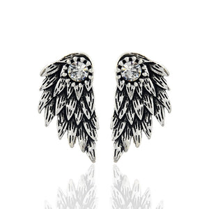 Angel Wings Earrings-Romatco