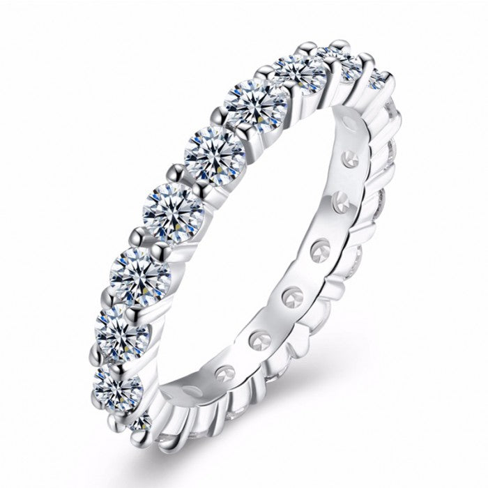 Evaleen Eternity Ring - Romatco Jewelry