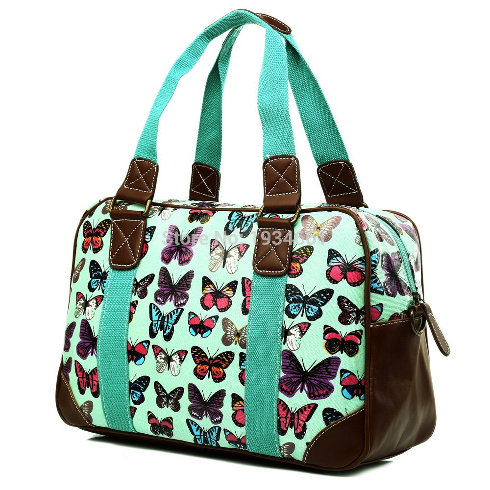 Butterfly Travel Handbags-Romatco