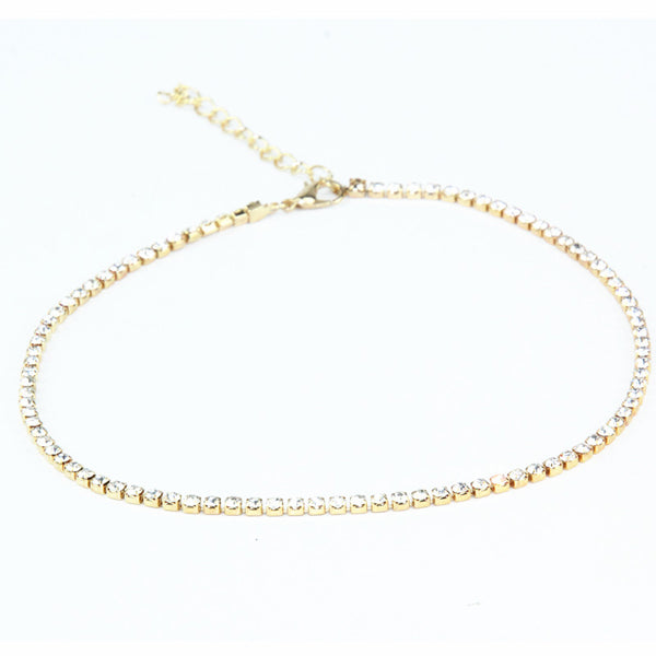 Studded choker Necklace-Romatco