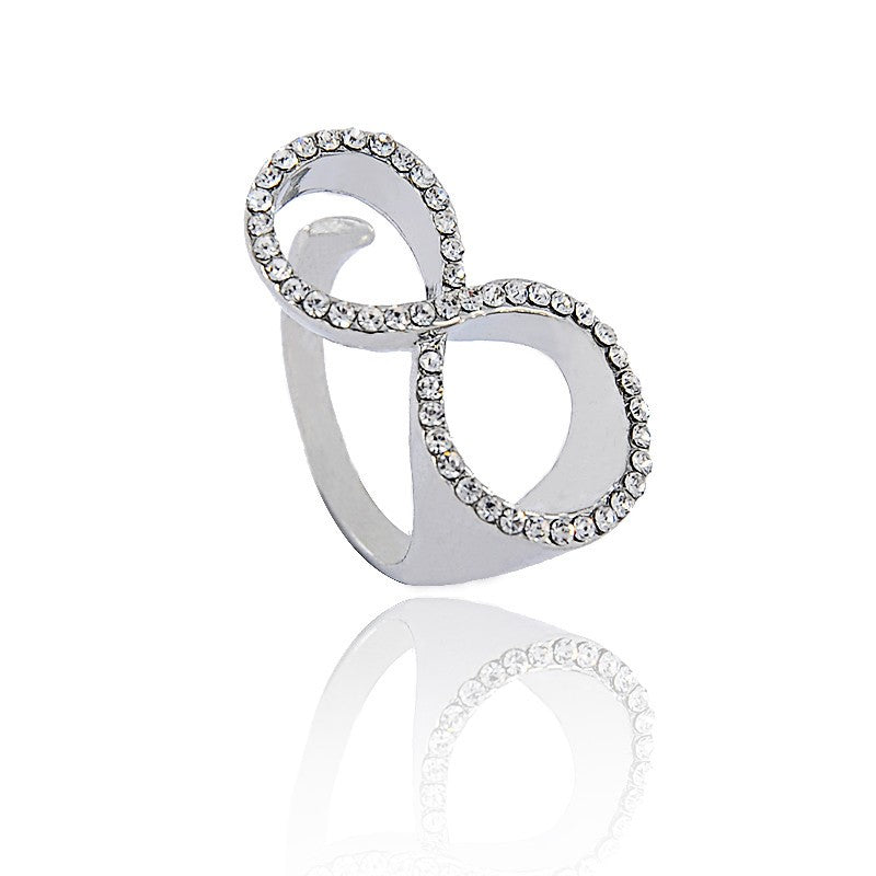 18K White-Gold plated