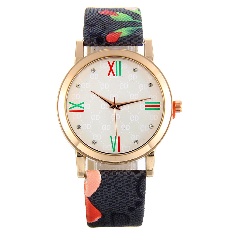 Liyana Flower Print Watch-Romatco