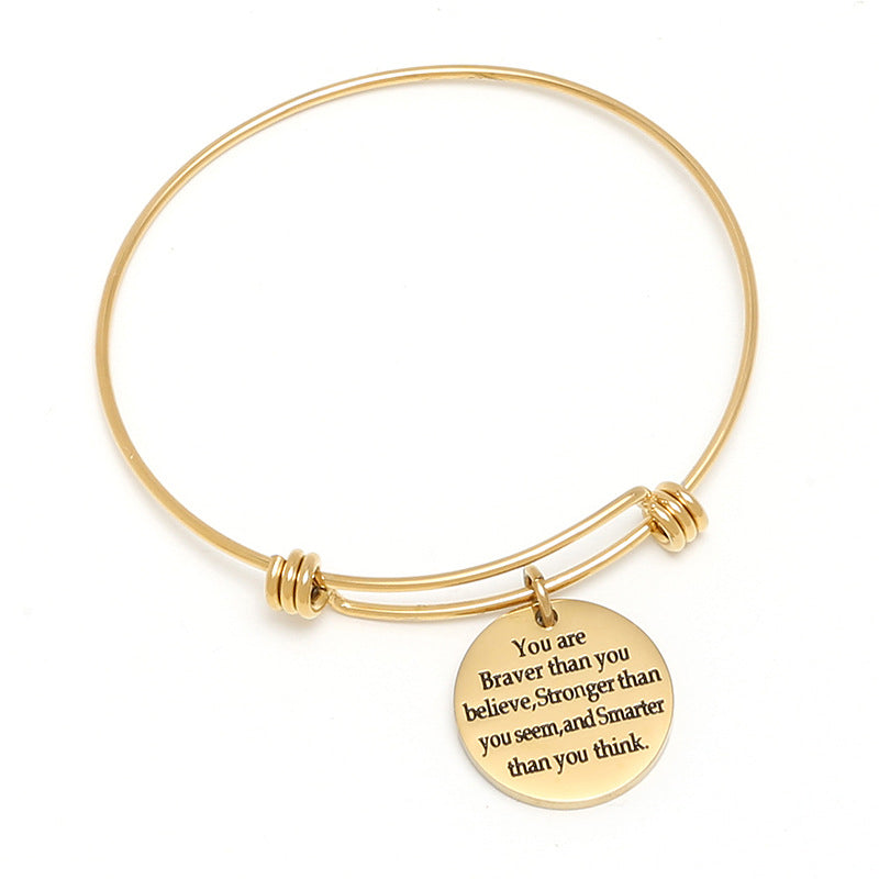 Inspiration Bangle Bracelet-Romatco