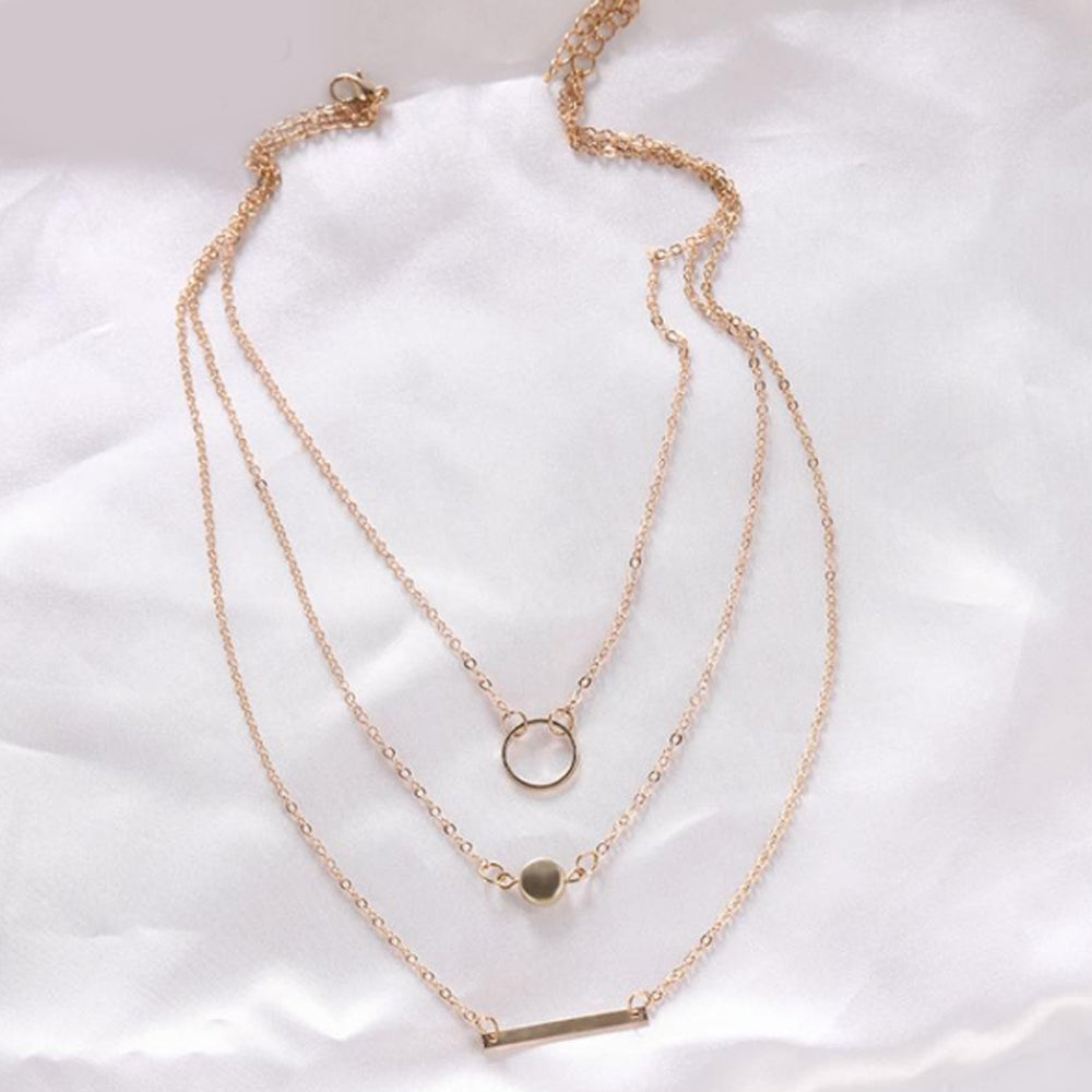 Maxi Statement Multilayer Necklace