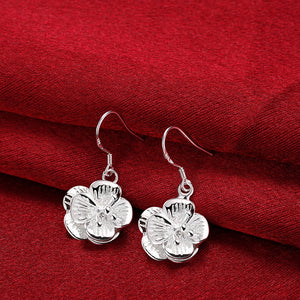 18K White-Gold Plated Marlee Earrings