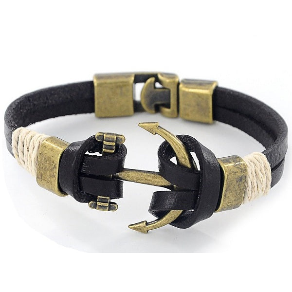 Louis Anchor Bracelet-Romatco