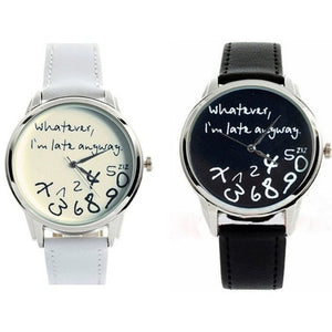 Message Watch Mens Watch romatco.myshopify.com