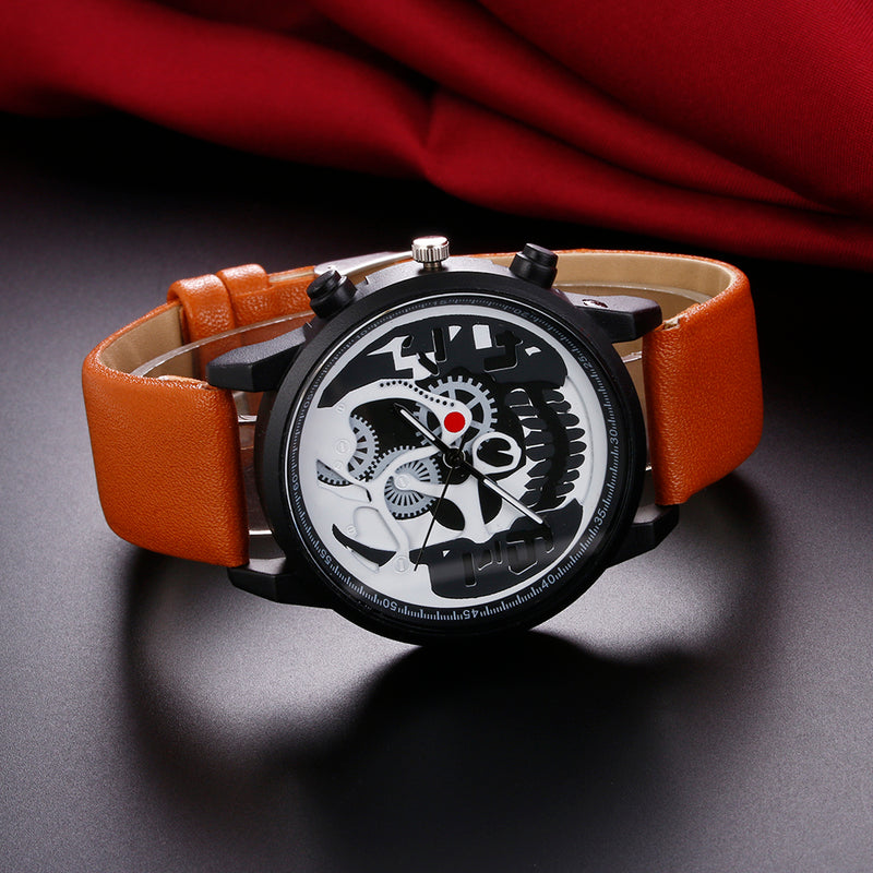 Skull Watch-Romatco