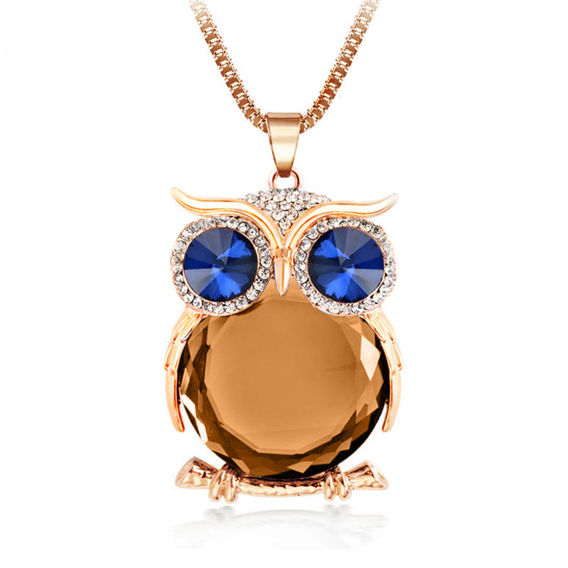 Owl Necklace-Romatco