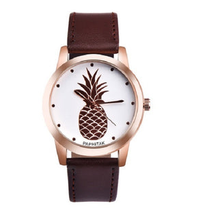 Pineapple Print Watch-Romatco