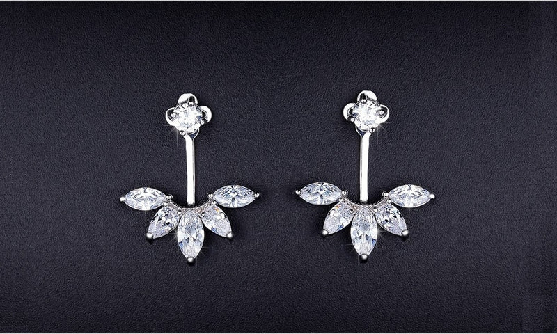Amazonian Jacket Stud Earrings-Romatco